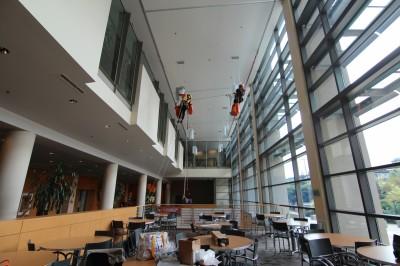 Seattle University atrium